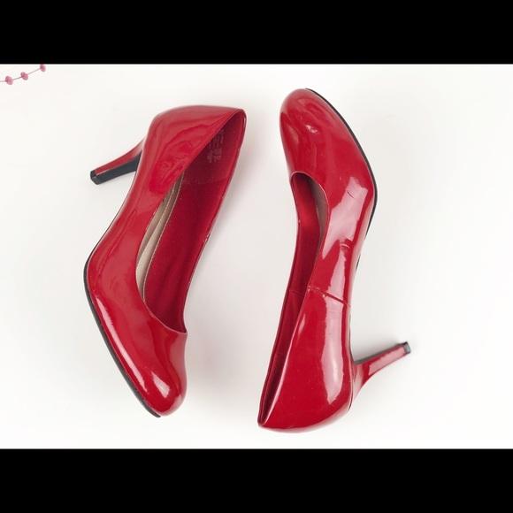 Red Comfort Plus Heels by Prediction Shoe